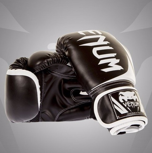 c19aa9a3f Luva Boxe Venum Challenger 2.0 Black 10oz  12oz  14oz  16oz - R  254 ...