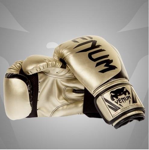0884972ba Luva Boxe Venum Challenger 2.0 Gold 14oz  16oz - R  254