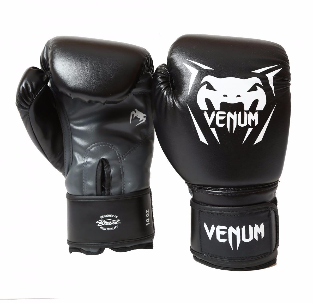fa4034de83 luva boxe venum new contender preta tam. 16 oz original. Carregando zoom.
