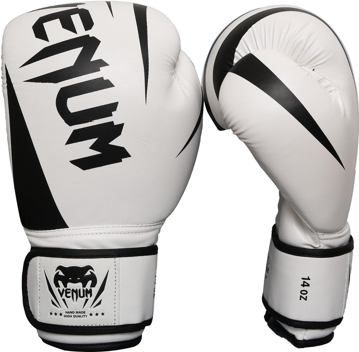 1c20eec53 luva boxe muay thai venum new challenger branca. Carregando zoom.