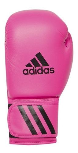 luva de boxe adidas speed 50 rosa