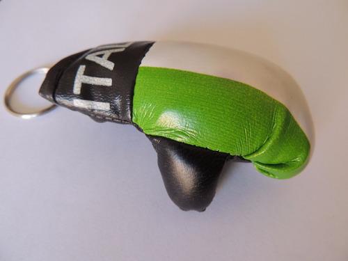 luva de boxe chaveiro vários países 10x unidades
