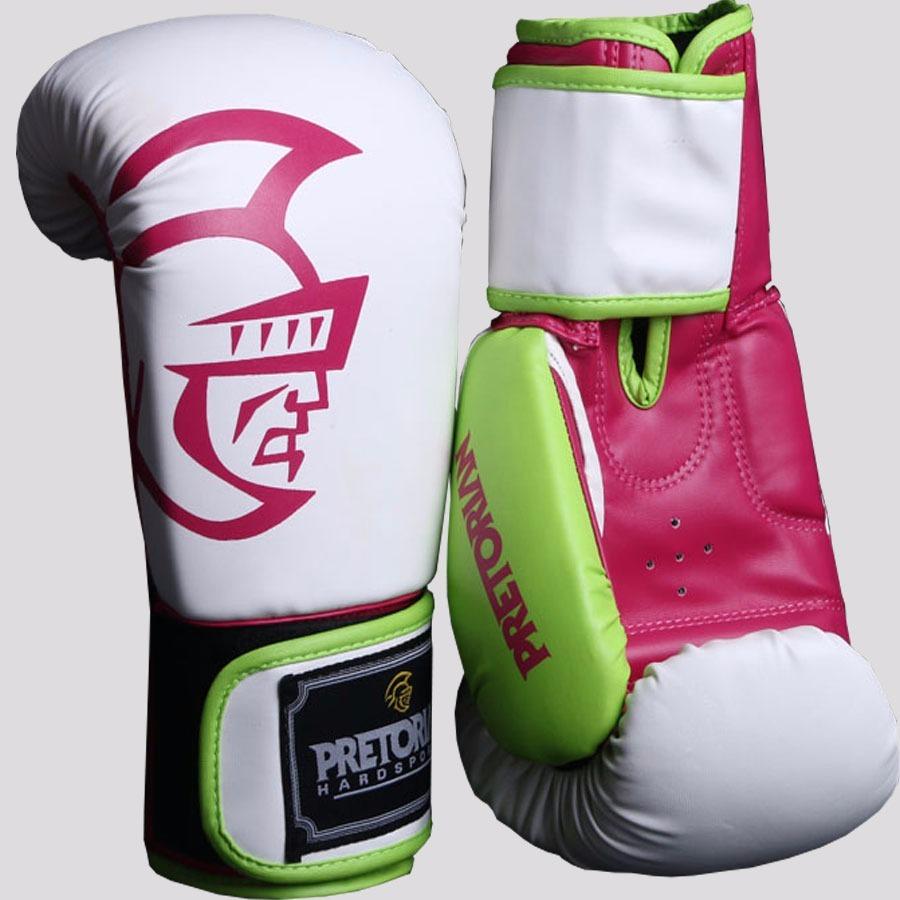 b5d028676 Luva De Boxe E Muay Thai Pretorian - Cor De Rosa - 14oz - R  192