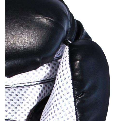 luva de boxe muay-thai 12 oz + bolsa mochila - gorilla