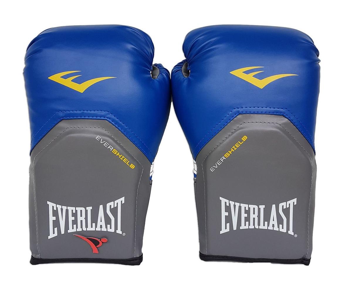 2ae7ffbe182b2 luva de boxe   muay thai 12oz - azul - pro style - everlast. Carregando  zoom.