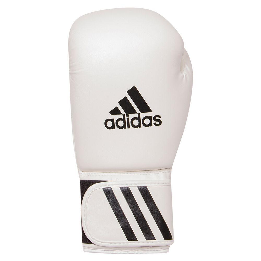 a7c3a43b6 luva de boxe   muay thai adidas speed 50 branca. Carregando zoom.