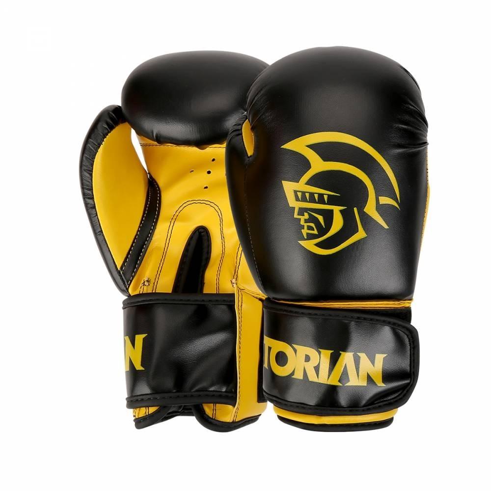 14f44477d luva de boxe muay thai pretorian first 14 oz preta e amarela. Carregando  zoom.