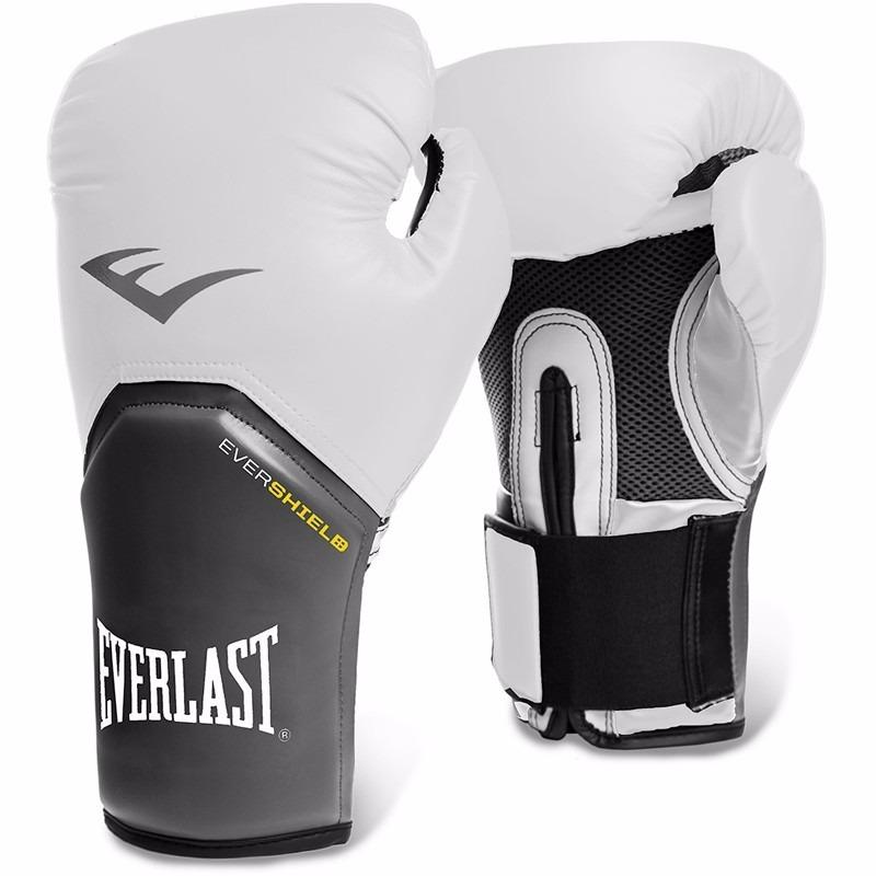 dac79f841 Luva De Boxe Muay Thai Pro Style Elite Everlast Branca - R  115