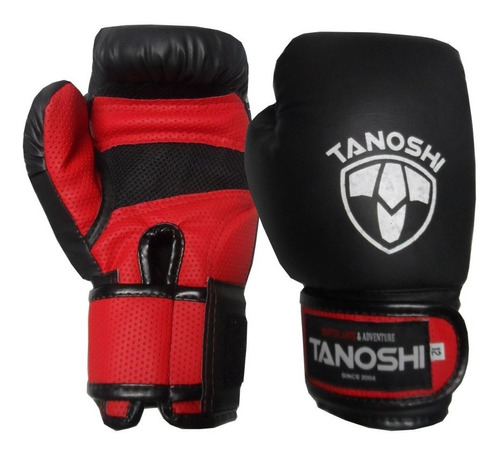 luva de boxe muaythai cx tanoshi vermelho - preço fábrica