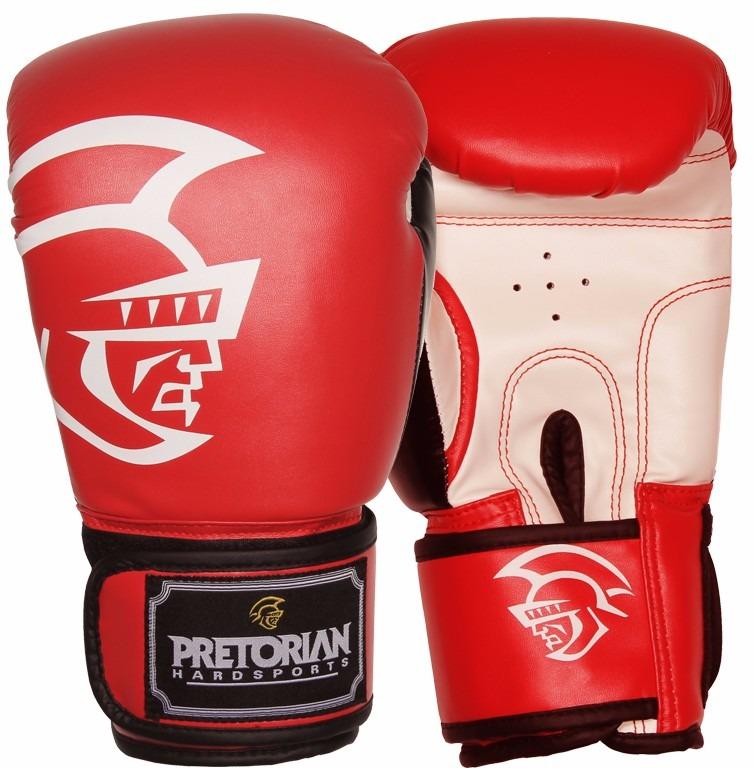 Luva De Boxe Pretorian Training (vermelha) (16oz) - R  137 8197fc2448290