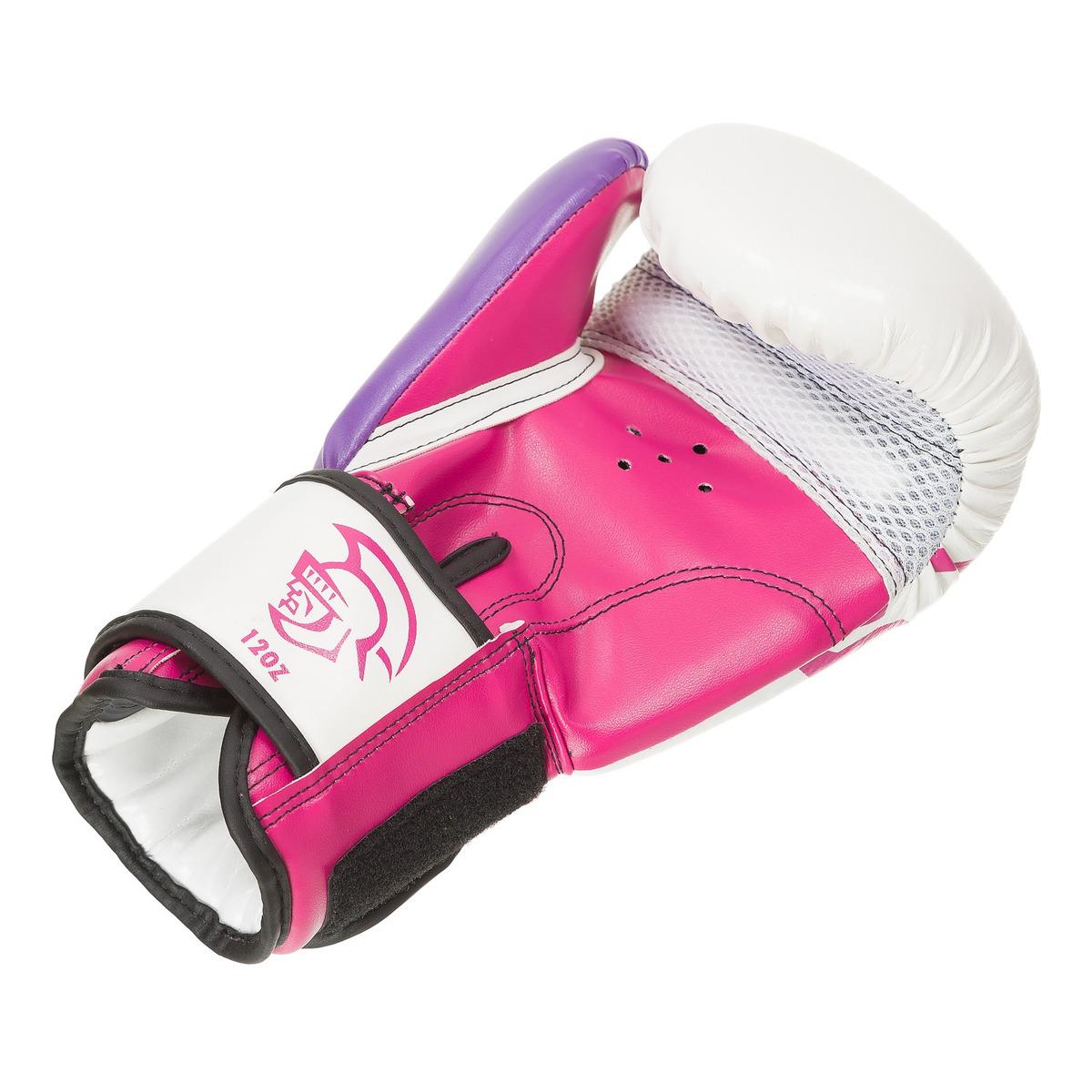 57fa1fd79 luva de boxe muay thai pretorian elite training 14oz rosa. Carregando zoom.