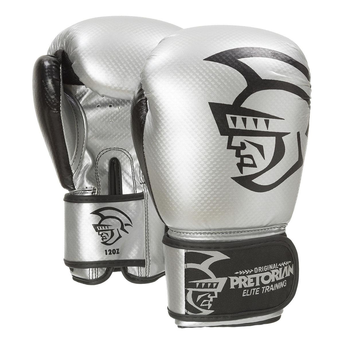 luva de boxe muay thai pretorian elite training 16oz silver. Carregando  zoom. 224d6a1b8572b