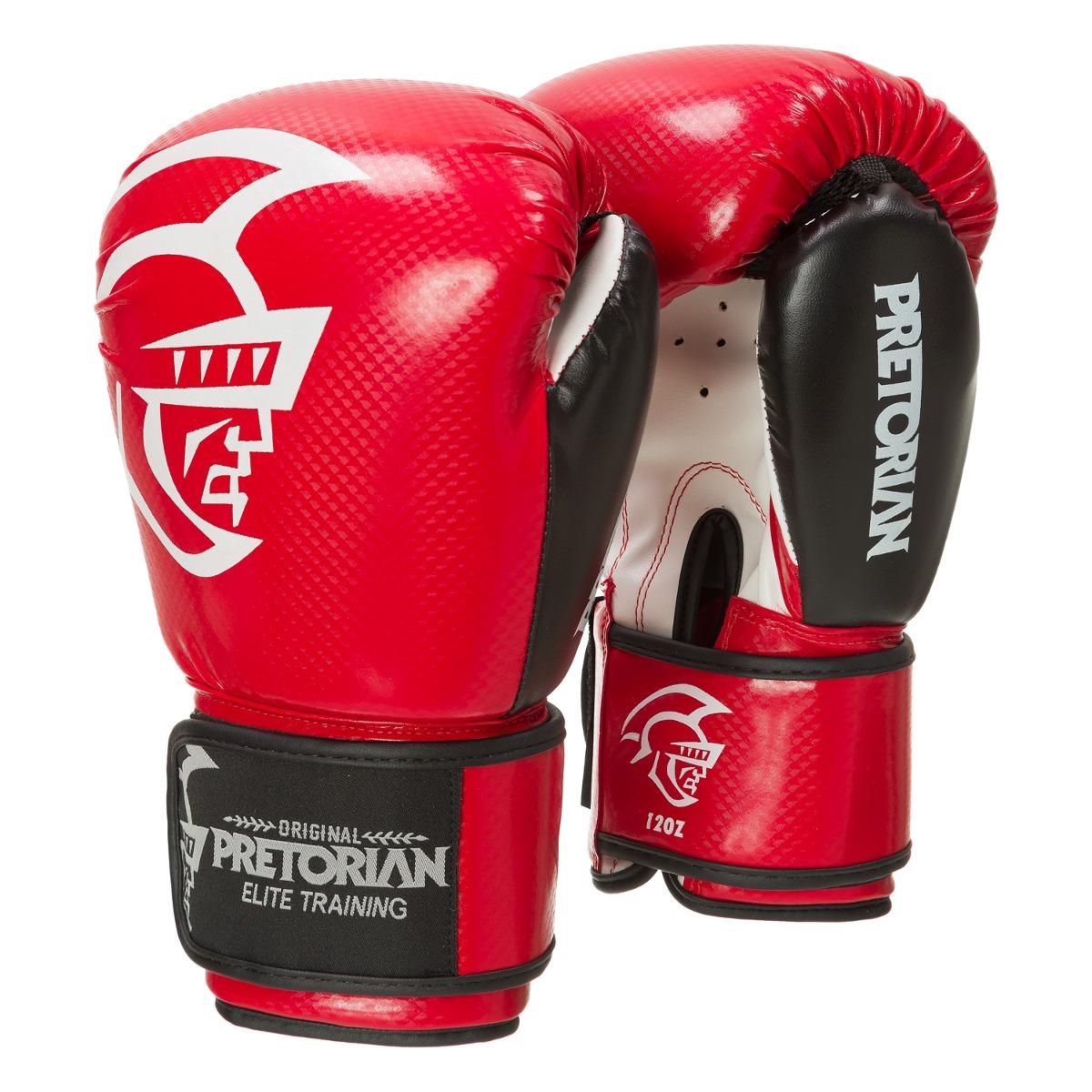 luva de boxe muay thai pretorian elite training 16oz verm. Carregando zoom. dc8cdcd2cfd37