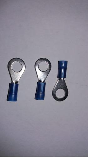 luva de emenda azul  lep 22 (fio 2,5)  kit 100 und cod:6518