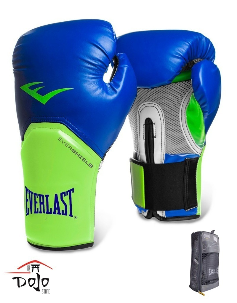 caa5e6bcf luva everlast boxe muay thai azul verde original   promoção . Carregando  zoom.