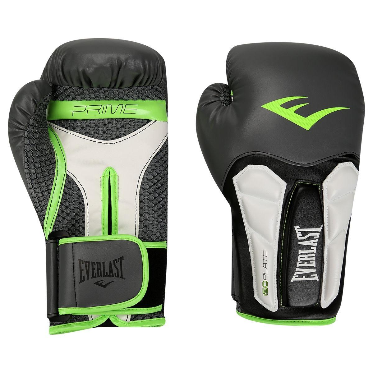 Luva Everlast Boxe Muay Thai Preta 8 5734e33f0ec61