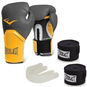 da07e8fb0 Luva Everlast Amarela - Luvas para Artes Marciais e Boxe no Mercado Livre  Brasil