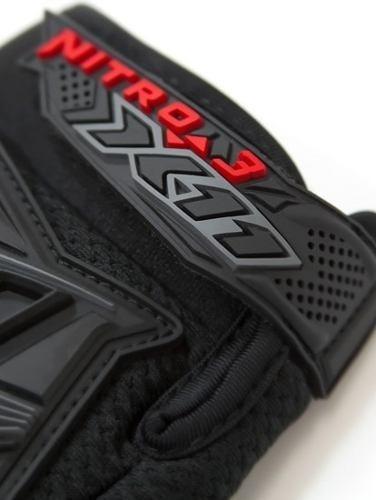luva frio x11 motociclista nitro 3 - original mod. novo