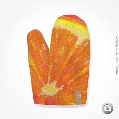 luva haus for fun orange 03 19x27