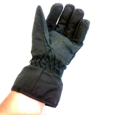 luva impermeavel nylon preta tamanho unico sbc