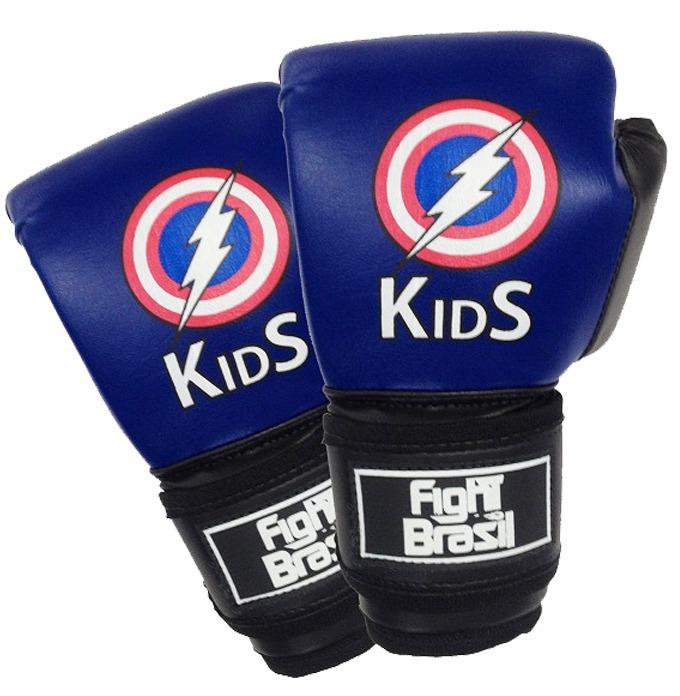 1a32ca6a1 Luva Kids Muay Thai   Boxe Fight Brasil - Infantil - R  85