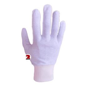 Luva Kit 3 Prs  Branca Algodão Alergia Mão Antiestática