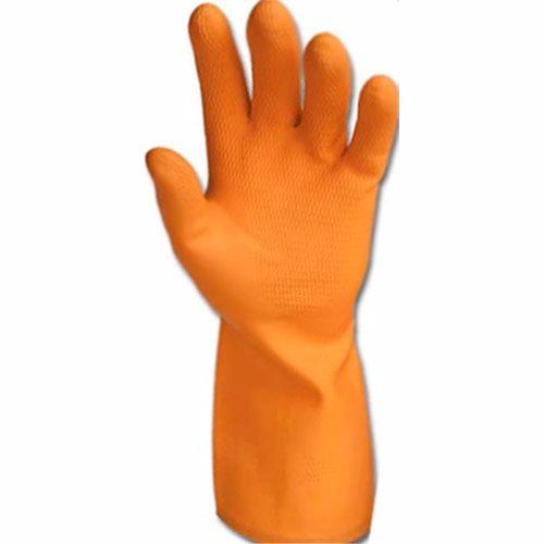 b31d7a76e8b4f Luva Látex Reforçada Danny Max Orange C 10 - R  59,90 em Mercado Livre