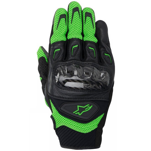 luva motociclista alpinestars smx-2 air carbon outlet