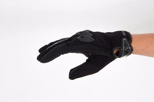 luva motoqueiro texx strike nylon proteção