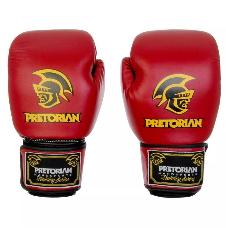 f29df322e Luva Muay Thai   Boxe Pretorian 16 Oz Cor Vermelho - R  120