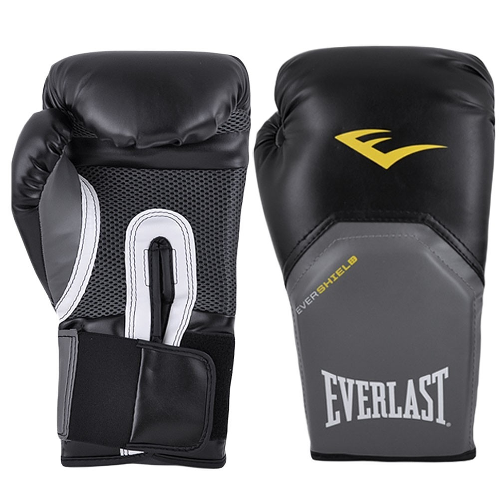 ba347532ddbd2 Luva Muay Thai Boxe Pro Style Elite - Everlast  preta  14oz - R  124 ...