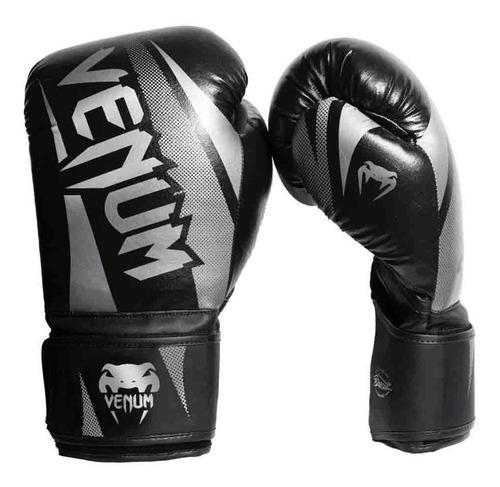luva muay thai boxe venum new challenger brasil preto