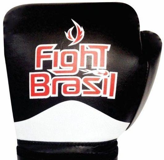 b7c73040e Luva Muay Thai E Boxe De Treino Fight Brasil Fbx 1374 Com Nf - R ...