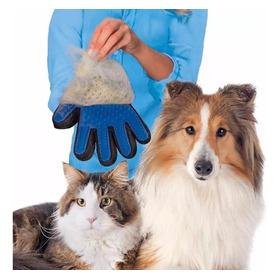 Luva Nano Magnético Tira Pelos Pets Cães Gatos True Touch