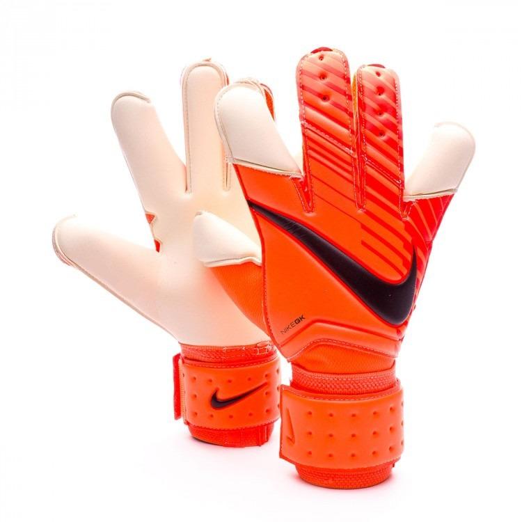 c63a6b672a Luva Nike Vapor Grip 3 Total Orange Tamanho 9 - R  199