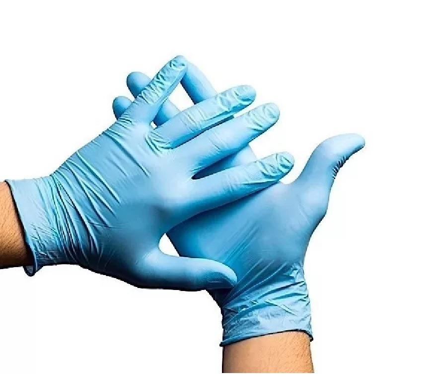 42fe0e4873b2a Luva Nitrilica Azul Sem Talco Tam P M G - Descarpack - R  25,25 em ...