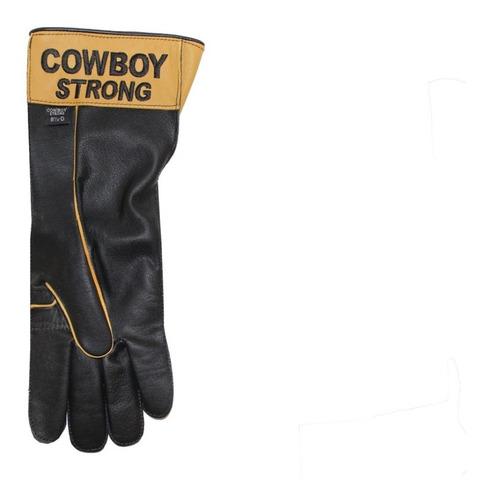 luva p/ montaria em touros tamanho 9 1/2 mão direita-lcs44