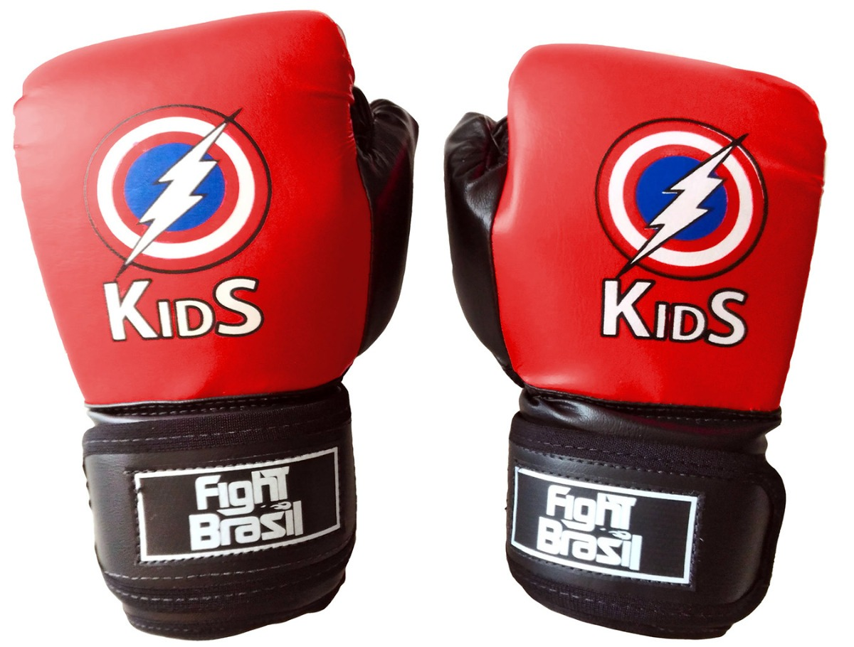 a1a614496 luva para muay thai boxe infantil fight brasil 4 oz kids. Carregando zoom.