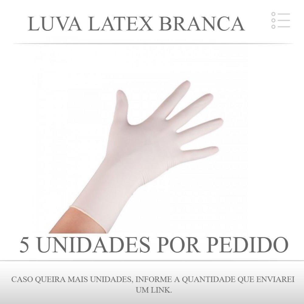 Luva Procedimento Latex Branca Uso Médico Unigloves Pp C 100 - R  25,95 em  Mercado Livre dfa0ce1d0e