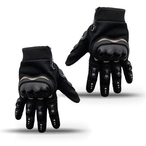 luva protetor anti frio intenso chuva moto motociclista bike