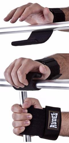 luva straps halter rudel musculação academia leo stronda