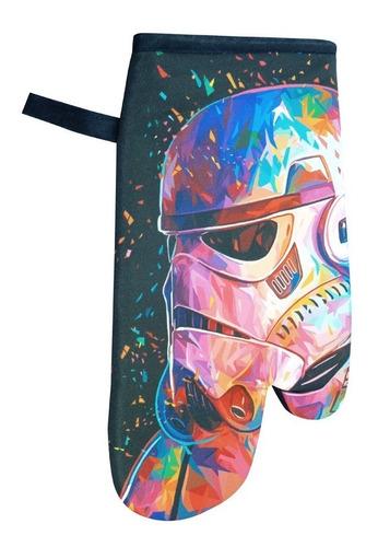 luva termica de cozinha stormtrooper cor star wars