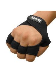 luva treino musculação rubber - rudel - tamanho p