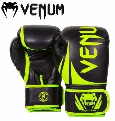 6561c5b5d Luva Venum Challenger 2.0 Verde Preta - R  254