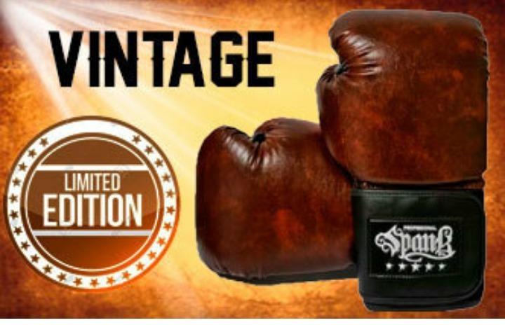 373d26069 Luva Vintage Spank ( Boxe   Muay Thai) - R  119
