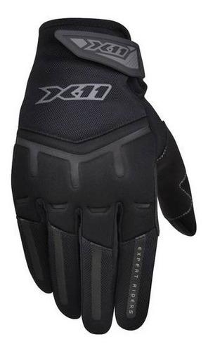 luva x11 fit x masculina preta original função touch