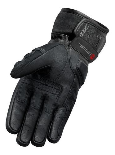 luva x11 impact 2 cano curto couro proteções preto a vista proteção couro conforto legitima nota full x11 durabilidade