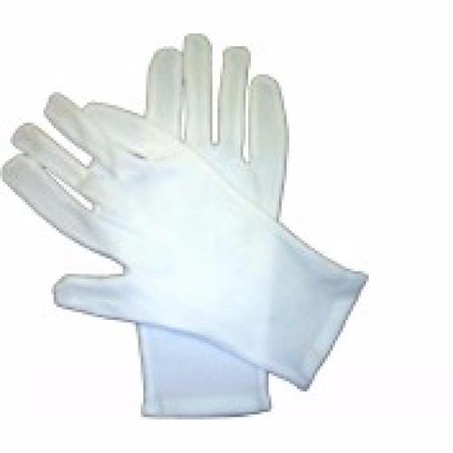 luvas brancas em suedine com punho  g  maçonaria t3sm