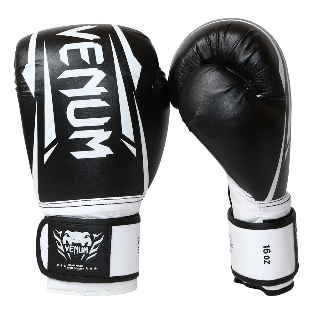 b6d604668 luvas de boxe e muay thai preta e branca venum new elite. Carregando zoom.