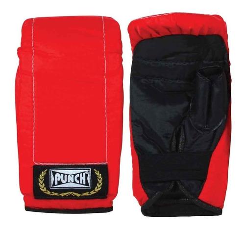 luvas de boxe - infantil - bate-soco - vermelho - punch